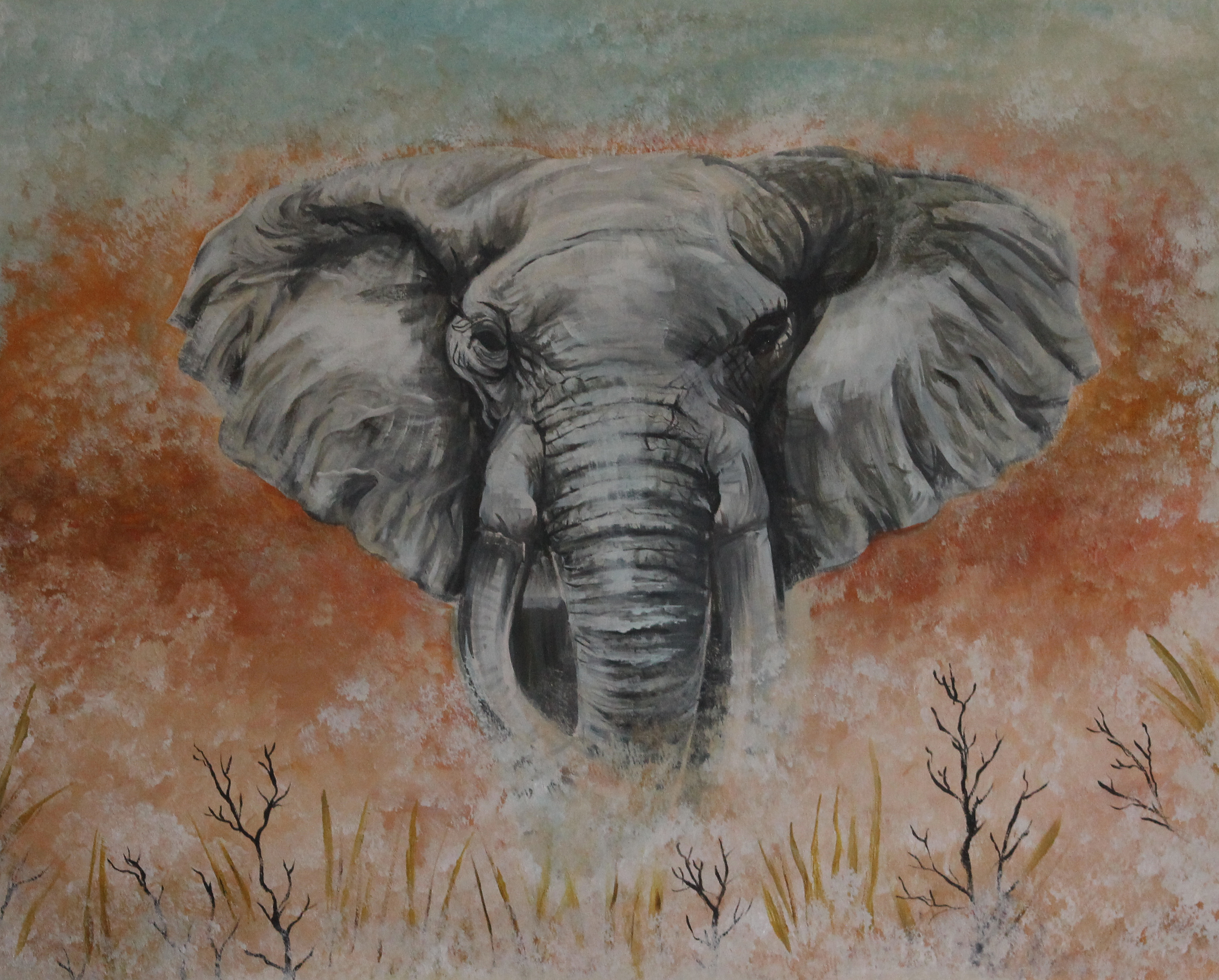 Elephants represent power, sovereignty, strength stability, and loyalty.as well as powers of memories.