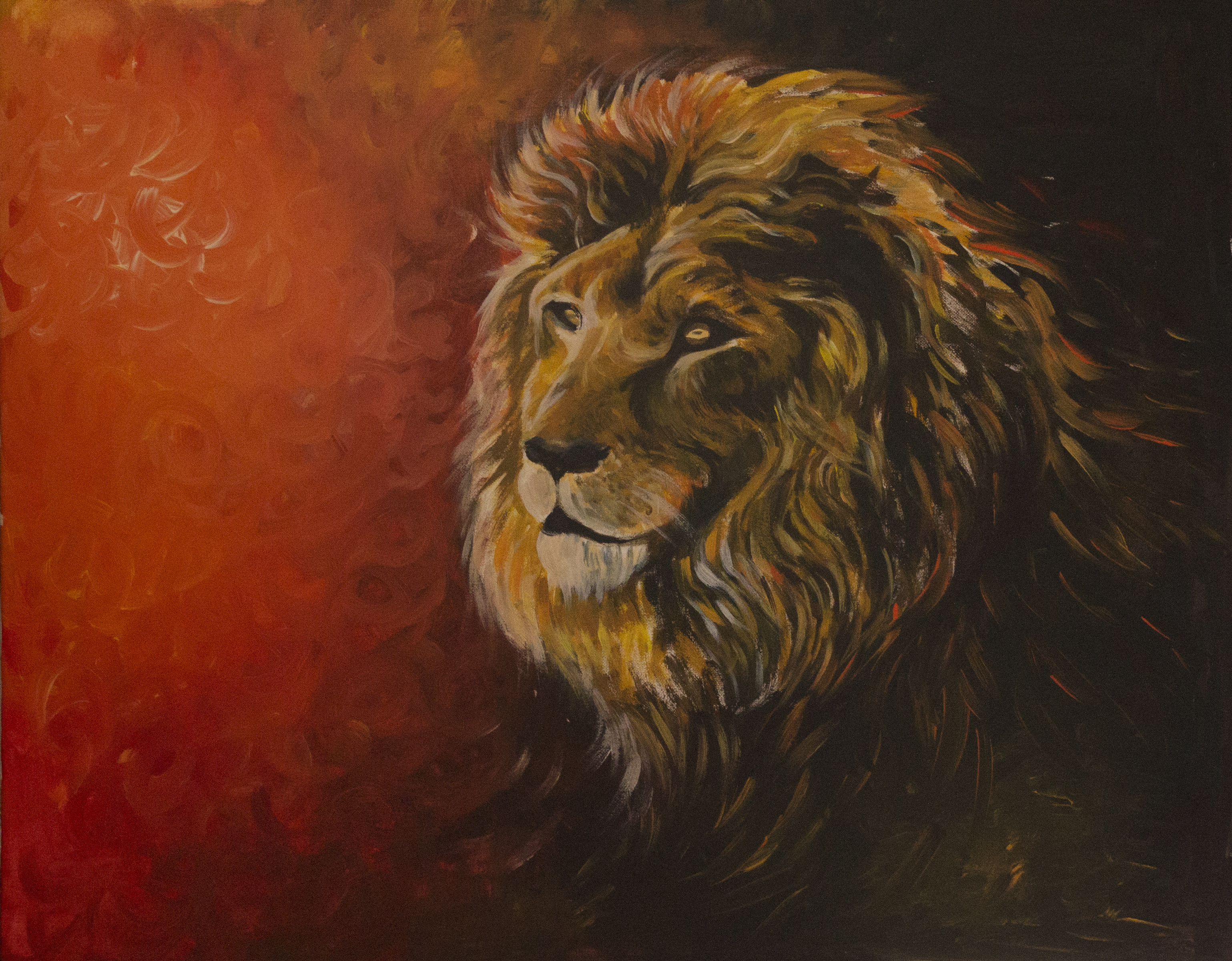 The power of the lion brings forth deep courage and strength in overcoming difficulties.